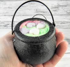 halloween bath bomb love potion bath bomb cauldron halloween bath bombs popsugar