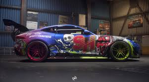 jaguar custom need for speed payback build of the week 7 u2013 jaguar f type r