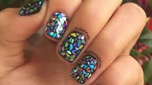 aluminum foil nails youtube tin foil nail art images diy chrome