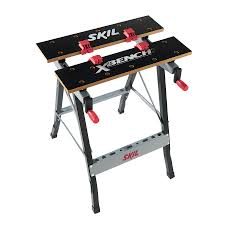 table stunning husky 1 8 ft x 3 portable jobsite workbench 225047