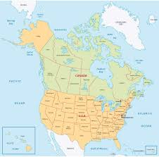 canada states map map canada