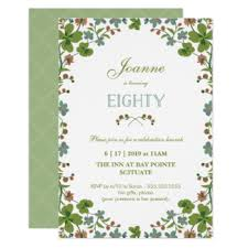 80th birthday invitations u0026 announcements zazzle com au