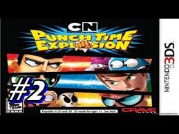 network punch time explosion the sequel let s play network punch time explosion 3ds part 2 blind