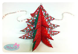 3d tree ornaments tree fabric and
