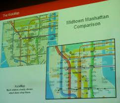 Midtown Manhattan Map Designing The New York City Subway Map Urban Omnibus