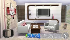 sims 4 titania livingroom