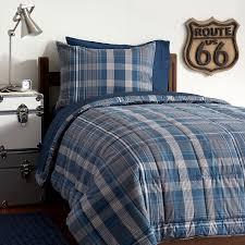 Plaid Bedding Set Heritage Plaid Value Comforter Set Pbteen