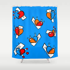 Bright Shower Curtain Shower Curtains Society6