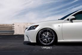 lexus sports car white lexus gs350 f sport velgen wheels vmb5 matte gunmetal 20x9