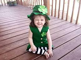 girls leprechaun photo prop green costume1st birthday march