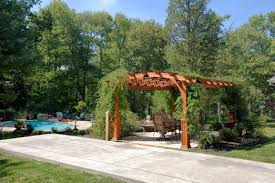 Pergola Post Base by Project Pergola How To Decide On Options Byler Barns