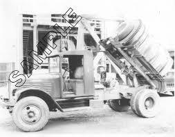 kenworth truck parts and accessories 1930 kenworth horizontal concrete mixer truck 8x10 glossy b u0026w