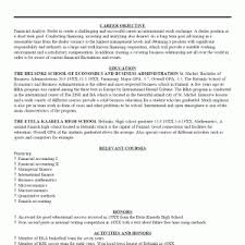 Sample Resume Objective Statements by Resume Examples Career Objective In Resume Resume Template