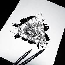 best 25 flower design drawing ideas on pinterest calligraphy