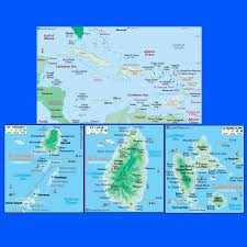 Map Caribbean Sea by Caribbean Islands Map Caribbean St Vincent St Lucia Guadeloupe