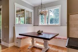 Kitchen Booth Seating Kitchen Transitional Corner Banquette Bench Kitchen Transitional With Bench Seating