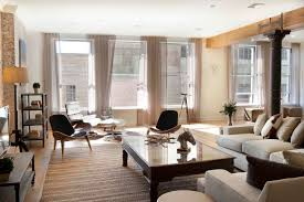 large modern design living room curtains ideas with white sofas