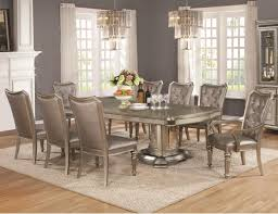 coaster danette 9 piece table and chair set with leaf value city