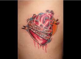 die besten 25 realistic heart tattoo ideen auf pinterest