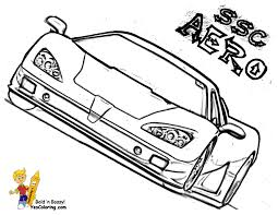 cartoon cars coloring pages cars coloring pages cars pagani aero car coloring for boys free