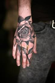 hand on shoulder tattoo 50 amazing rose hand tattoos tatuajes de mano pinterest