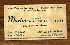 Business Cards Long Beach Custom Shop Business Cards Custom Car Chroniclecustom Car Chronicle