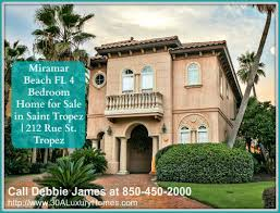 miramar beach fl 4 bedroom home for sale 30a luxury homes