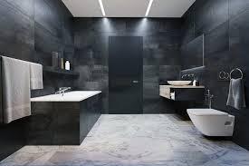 applying a trendy bathroom designs which arranged with a luxury