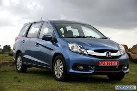 Interior Mobilio Honda Mobilio Production Discontinued In India Motoroids
