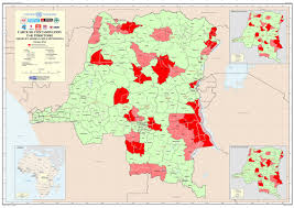 Republic Of Congo Map The Democratic Republic Of The Congo U0027s National Landmines