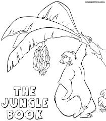 jungle book coloring pages coloring pages to download and print