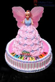 birthday cake baby 2 year barbie doll designs decorating of