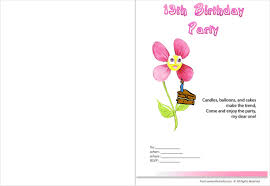 13th birthday party invitations templates free pictures reference