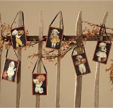 postcard ornaments bethany lowe set of 6