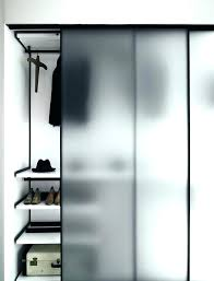Closet Glass Door Closet Door Hardware Amusing Glass Door Closet Inspirations Like