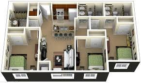 3 bedroom house plans 3 bedroom house plans 3d house 3 bedroom bungalow house floor