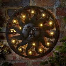 garden wall metal home outdoor decoration