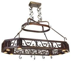 oil rubbed bronze pot rack with lights bronze pot rack cosmecol