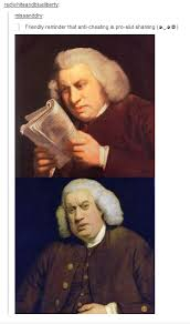Samuel Johnson Meme - please tell me this hasn t been uploaded already tumblr know