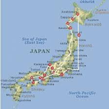 Map Japan Japan Map Naoshima