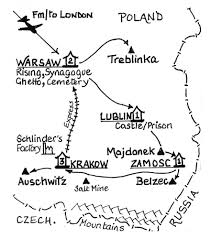 Map Of Concentration Camps 8 Day Holocaust Tour Including Poland U0026 The Death Camps In 2018
