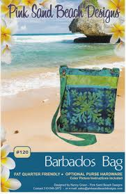 120 barbados bag sewing pattern from pink sand beach designs