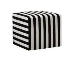 striped ottomans foter