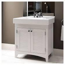Rona Cabinet Doors Bathroom Sink Vanity With Reversible Doors White 29 Rona