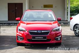 hatchback subaru 2017 2017 subaru impreza launched in singapore may come to malaysia