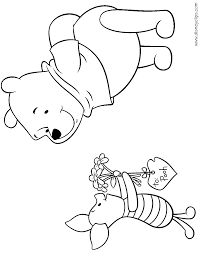 coloring download winnie the pooh valentine coloring pages