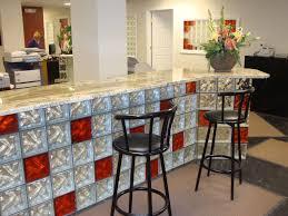 glass bar glass block bar decorative bar furniture counters