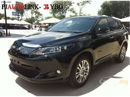 toyota suv price toyota harrier 2015 premium advanced 2 0 in selangor automatic suv