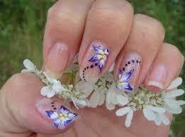 103 best flower nail art images on pinterest flower nails