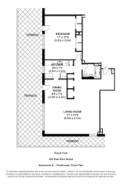 Penthouse Apartment Floor Plans Aib Management Corp The Royal York 425 East 63rd Street